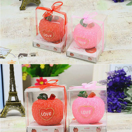 Wholesale Decorative Wax Candles - New Velas Led 2016 Christmas Aroma Story 5pcs lot Flameless Shaped Decorative Scented Candle Romantic Express Love Home Decor
