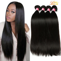 Wholesale 26 Brazilian Virgin Hair - 8A Mink Brazilian straight Virgin Hair Bundles 100% Brazilian virgin Hair straight Unprocessed Peruvian Malaysian Indian virgin Human hair