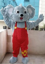 Wholesale Bear Fancy Dress Costumes - Professional Koala Bear Mascot Costume Fancy Dress Adult Size New Arrival free shipping