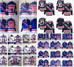 Wholesale Ryan White - 2018 Winter Classic New York Rangers 27 Ryan McDonagh Hockey Jerseys 36 Mats Zuccarello 61 Rick Nash 30 Henrik Lundqvist Navy Blue White