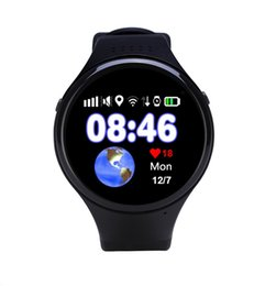 """Wholesale Android Agps - Super GPS Tracking Watch for Children Old Man T88 Smart Watch SOS Emergency 1.22"""" Touch Screen Anti-lost WIFI LBS AGPS GPS Watch"""