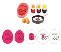 Wholesale Egg Timer Color - Creative Egg Timer Kitchen Supplies Egg Perfect Color Changing Perfect Boiled Eggs Cooking Helper Free Shipping