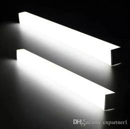 Wholesale Bathroom Wall Light Fixtures - Modern led mirror light 7w 8W 10W 14w 16w 1ft 2ft 700mm waterproof wall lamp fixture 85-265v Acrylic wall mounted bathroom light lighting