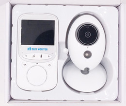 "Wholesale Camera Security Wireless Screen - VB605 Wireless Video Baby Monitor Security Camera 2"" 2.4"" LCD Screen 2 Way Talk Night Vision 5M IR LED Temperature Hassle-Free 2017 AT"