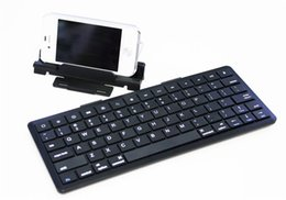 Wholesale Bluetooth Keyboard Galaxy - Wireless Bluetooth Keyboard with Stand for Smartphones and Tablet Nexus With Two Colors KB-1303