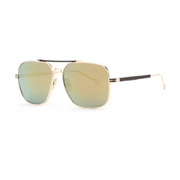 Wholesale Hd Coat - FU E Men's Sunglasses Fashion Brand Designer HD Sun glasses for Men Coating Lens Double Bridge Goggle A104