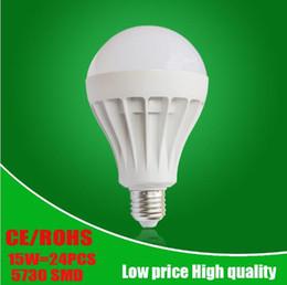 Wholesale B22 Bayonet White Led - E27 Led Bulbs Light B22 Bayonet LED Energy Saving Globe Bombillas leds 3W 5W 7W 9W 12W 15W 20W Super Bright For Living Room