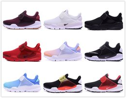 Wholesale Hot Colorful Boots - 2018 Hot Airs Presto Fragment X Sock Dart SP Lode Triple Colorful Woms High Quality Women and Mens Sports Sneakers Casual Boots Size 36-44