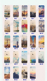 Wholesale Iphone Cell Phone Pictures - 24 Picture For Apple iphone 6 6S plus iphone 7 plus SE silicone case landscape Plating TPU cell phone cases Elizabeth Tower Big Ben Eiffel
