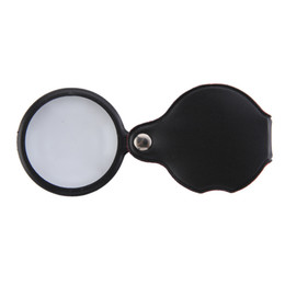 50 мм стеклянные оптические линзы складная кожа ручной ювелирные изделия лупа увеличительное стекло Лупа cheap magnify lens от Поставщики увеличительная линза