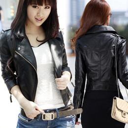 Wholesale Leather Jacket Brand For Women - Wholesale Fashion Brand women's jacket leather jacket and blazer autumn winter coat for women free shipping