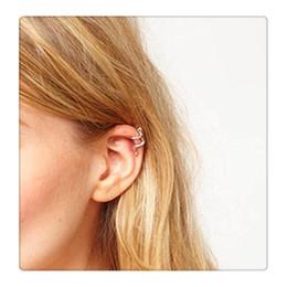 2019 brincos de orelha de orelha de cartilagem Moda Mini Design Criativo de Prata Cartilagem Brinco Escalada Villain Brincos Escalada Man Ear Cuff Frete Grátis