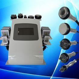 Wholesale Health Beauty Equipment - vacuum cavitation system rf skin tightening machine lipo laser with user manual Slimming Machine Health Beauty Equipment