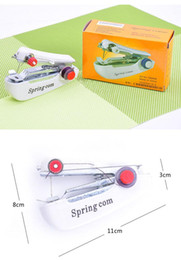 Wholesale Pictures Machine - Simple household mini manual sewing machine household portable mini manual sewing machine learning teaching children DIY