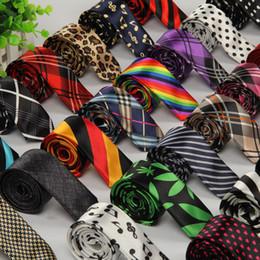 Wholesale Gravatas Jacquard - Ties for Men 5cm Corbatas Hombre Gravata Slim Corbata 5 Cms Gravatas Jacquard Seda Lote