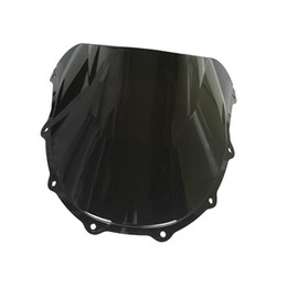 Wholesale Zx 7r - Motorcycles ABS Tinted Injection Windshield For Kawasaki Ninja ZX-7R 96 97 98 99 00 01 02 03 ZX7R 1996-2003 ZX750 ZXR750 Windscreen