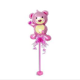 Wholesale Decoration Pole - Color Mini Cartoon Animals Column Base Table Pole Birthday Balloon Decoration Use For Year Old Party Decoration Tableware