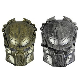 Wholesale Mask Horror Wolf - Wholesale-Carnival Masquerade Mask pick Predator horror movie theme New avpr lone wolf mask A6