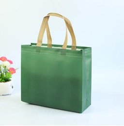 Wholesale Advertising Clothes - Latest reusable shopping bag clothes, gift promotion advertising tote bag laminating non-woven waterproof shopper carrying bag