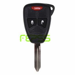 Wholesale key fob dodge - New Uncut Remote Key Fob 3 Button for 2006-2008 Dodge 1500 2500 3500 FCC OHT