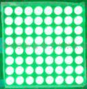Wholesale 8x8 Led Dot Matrix Display - Wholesale- FREE SHIPPING 10PCS 1.9MM 8X8 Emerald green 20*20 Jade Green LED Dot Matrix Digital Tube Module 788BGG LED Display Module