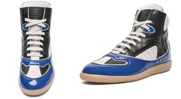 Wholesale Next Tops - Promotions Men's Maison Martin Margiela High Tops Multicolors Fashion and Durable Sneakers Free Next Day Delivery
