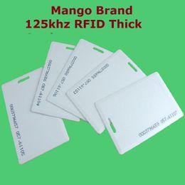 125khz rfid бесконтактная карта Скидка Wholesale- 50pcs/Lot Proximity EM / ID RFID 125khz Smart Thick ID Card Mango  Access Control System High Quality Free Shipment