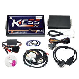Wholesale Vw Ecu Tuning - 10pcs lot ECU Chip Tuning Tool KESS V2 OBD2 Manager Tuning Newest V2.25 Kit NoToken Kess V2 Master unlimited