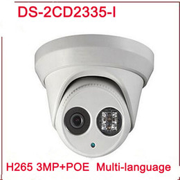 Wholesale Wireless Dome Ip - New arrival DS-2CD2335-I replace DS-2CD2332-I 3mp 30m IR Network Dome security CCTV poe ip camera H265 IPC