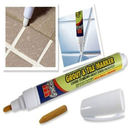 Wholesale Grout Tile Marker - 2017 Grout Aide Repair Tile Marker Wall Pen With Retail Box Tile Repair Pen Fill The Wall Practical Repair Tools Home Supplies