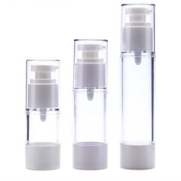 Wholesale Packaging Container Plastics - Fast shipping - 15ml 30ml 50ml airless bottle,cosmetic package,Emulsion bottles,cosmetic container,pump bottle Perfume Bottle F2017167