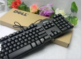 Wholesale DELL USB package machinery hand computer keyboard game special computer keyboard black