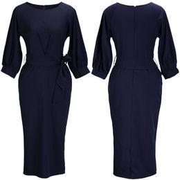Wholesale Wholesale Work Dresses - SALE business dress ladies office clothes fashion womens dresses ladies office dresses Blended chiffon Work Dresses 870
