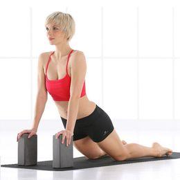 a3f29a6e30 EVA Yoga Blocks Bricks High Density Foaming Foam Home Exercise Fitness  Health Gym Practice Tool Stretching Aid Body Shaping Health Training