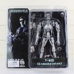 """Wholesale Arnold Toy - The Terminator 2 Action Figure T-800 Battle Across Time Arnold PVC Action Figures Toy Collectible Model Dolls 7""""18cm"""