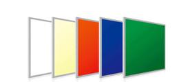 panneaux de plafond en grille Promotion Livraison Gratuite 620x620mm Couleur RVB Panneau LED avec RF Télécommande Contorl Alliage D'aluminium + PMMA Matériel CE ROHS FCC SAA Approuvé