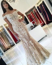 Wholesale Gold Grapes Charm - Fast Shipping Charming vestidos de Noiva Sleeveless Formal Prom Dress 2017 Mermaid Lace And Appliques Evening Gowns