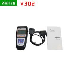 Wholesale Code V Professional - V-CHECKER V302 Professional CANBUS Code Reader On Discount reader software reader device