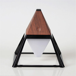 Wholesale Usb Customized - Pyramid Shape LED Table Lamp Android Charging Home LED Lights Original Version Special Customized 6000Mah Led Desk Light