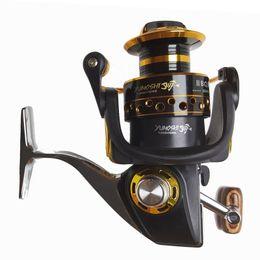 Wholesale Metal Ocean - Wholesale Fishing Reels Ocean Fish Design Metal Body Parallel Winding BQ 13BB Spinning Reel Free Shipping