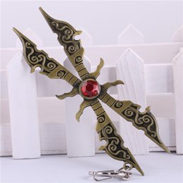 Wholesale Weapon Online Game - Online Game LOL New Irelia Weapons Metal Models Hanging Pendant Gift