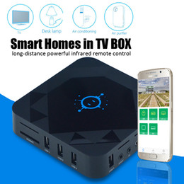 Wholesale Android Tv Box Wifi Remote - S912 tv box android 6.0 C88 octa core 64bit 2GB+16GB 5GHz dual band wifi bluetooth 1000M internet smart home center remote controller