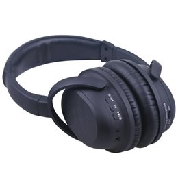 Wholesale Headphones Active Noise - BH519 ANC Active Noise Cancelling Bluetooth Headphone CSR V4.0 Wireless Wired Handsfree Earphone Adjustable Foldable Over Ear