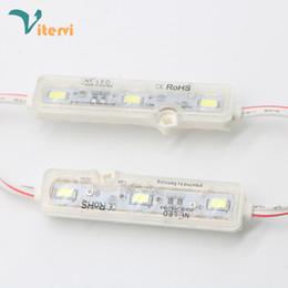 IP68 Su Geçirmez LED Modülleri ışık 5050 5730 5054 1.2 W Led Dize DC12V 3 Leds Burcu Led Arka Işıklar Kanal Mektuplar Beyaz Kırmızı Mavi yeşil nereden yeşil ışık mektubu tedarikçiler
