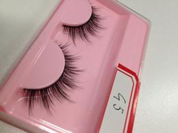 Wholesale Eye Lash False Eyelashes Extension - 1 Pair Soft Eye Lashes Makeup Extension False Eyelashes Full Strip Lashes Fashion 3D eyelash Hot Selling