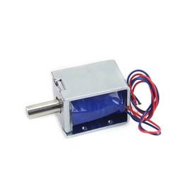 Мини-электронный замок онлайн-DC24V небольшие электрические замки мини электрический Болт замок ящик небольшой электронный шкаф замки