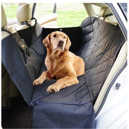 Wholesale Dog Beds Waterproof - Oxford Waterproof Large Thicken Dog Car Back Seat Mat Bed Dog Pet Hammock Car Seat Covers DogS Travel Protection Supplies 150x130x35cm