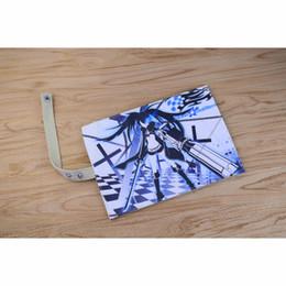 Wholesale Canvas Scrolls - Wholesale- New Arrival: Anime Black Rock Shooter Kuroi Mato Canvas Children Convenient Pen Storage Scroll Bag
