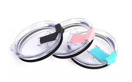 Wholesale Plastic Seal Lid - Cup Lids 20oz 30oz Splash Spill Proof Lid For Mugs Cups Replacement Resistant Proof Seal Lids Food Grade Durable Clear Cover