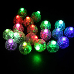 Wholesale Green Lanterns Light - Promotion Round Led Lamps Balloon Lights For Paper Lantern Party Casamento Wedding Christmas Decoration Free Shipping